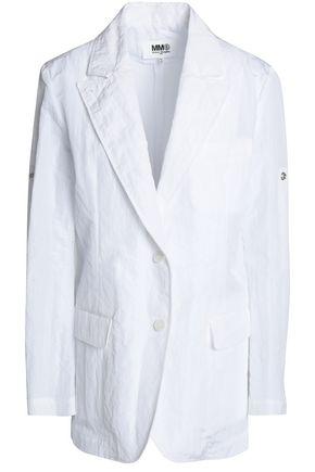 MM6 Maison Margiela | Mm6 By Maison Margiela Woman Cloque Blazer White Size 42 | Clouty