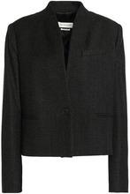 Isabel Marant Étoile   Isabel Marant Etoile Woman Wool-blend Jacket Anthracite Size 34   Clouty