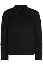 Proenza Schouler   Proenza Schouler Woman Matelasse Cotton And Wool-blend Jacket Black Size 2   Clouty