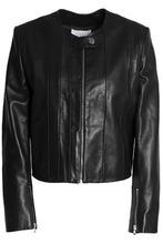 Sandro   Sandro Paris Woman Leather Jacket Black Size 3   Clouty