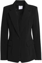 DKNY   Dkny Woman Crepe Blazer Black Size 0   Clouty