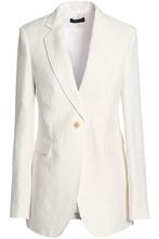 JOSEPH | Joseph Woman Laurent Linen-twill Blazer Off-white Size 42 | Clouty