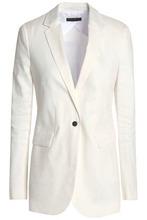 JOSEPH | Joseph Woman Laurent Linen-blend Blazer Off-white Size 38 | Clouty