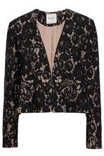 LANVIN | Lanvin Woman Corded Lace Jacket Black Size 34 | Clouty