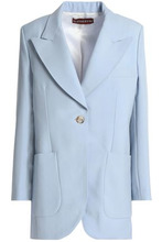 ALEXACHUNG | Alexachung Woman Wool-twill Blazer Sky Blue Size 12 | Clouty