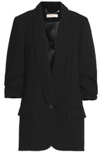 Michael Michael Kors | Michael Michael Kors Woman Crepe Blazer Black Size 0 | Clouty