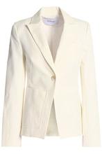 Derek Lam 10 Crosby | Derek Lam 10 Crosby Woman Stretch-cotton Gabardine Blazer Cream Size 2 | Clouty