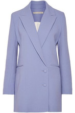 Emilia Wickstead | Emilia Wickstead Woman Foster Wool-crepe Blazer Lilac Size 10 | Clouty