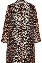 Ganni | Ganni Woman Leopard-print Cotton-twill Jacket Animal Print Size 38 | Clouty