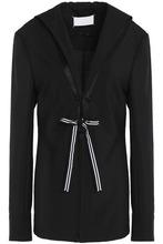 Maison Margiela | Maison Margiela Woman Wool And Mohair-blend Blazer Black Size 40 | Clouty