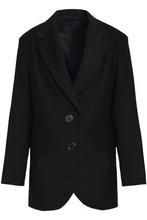 Marc Jacobs | Marc Jacobs Woman Wool Blazer Black Size 2 | Clouty