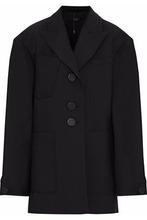 Ellery | Ellery Woman Cotton-blend Jacket Black Size 10 | Clouty