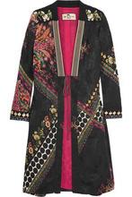 Etro | Etro Woman Printed Jacquard Jacket Black Size 38 | Clouty