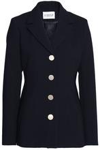 Claudie Pierlot | Claudie Pierlot Woman Crepe Jacket Midnight Blue Size 34 | Clouty