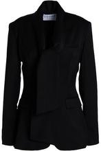 Osman | Osman Woman Wool-blend Twill Blazer Black Size 10 | Clouty