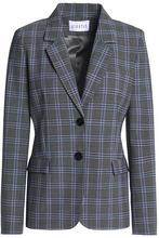 Claudie Pierlot | Claudie Pierlot Woman Checked Woven Blazer Gray Size 36 | Clouty