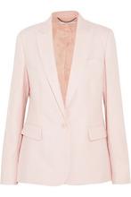 Stella McCartney | Stella Mccartney Woman Wool Blazer Pastel Pink Size 48 | Clouty