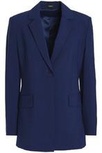 Theory | Theory Woman Wool-blend Canvas Blazer Royal Blue Size 10 | Clouty
