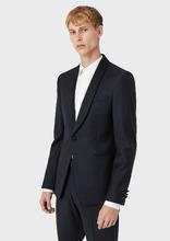 Emporio Armani | Однобортный пиджак из 100% натуральной шерсти | Clouty