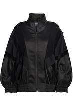 Koché | Koche Woman Embellished Satin Bomber Jacket Black Size S | Clouty