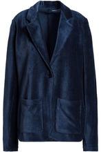 Majestic Filatures | Majestic Filatures Woman Cotton-blend Corduroy Blazer Navy Size 3 | Clouty