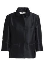 Marni | Marni Woman Duchesse-satin Jacket Black Size 38 | Clouty