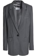 Maison Margiela   Maison Margiela Woman Wool Blazer Gray Size 40   Clouty