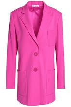 Oscar De La Renta | Oscar De La Renta Woman Wool-blend Blazer Fuchsia Size 6 | Clouty