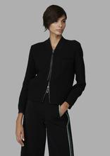 Giorgio Armani | Куртка-бомбер из двойного шерстяного джерси | Clouty