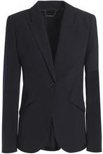 Elie Tahari | Elie Tahari Woman Crepe Blazer Midnight Blue Size 8 | Clouty