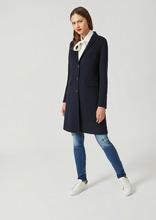 Emporio Armani | Однобортное пальто из двойного кашемира | Clouty