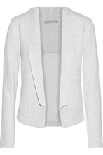Tart | Tart Collections Woman Melange Stretch-jersey Blazer Light Gray Size L | Clouty