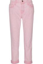 Current/Elliott | Current/elliott Woman The Fling Boyfriend Jeans Baby Pink Size 31 | Clouty