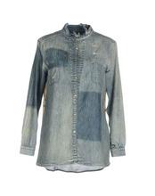 Manila Grace   MANILA GRACE Джинсовая рубашка Женщинам   Clouty