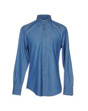 Brunello Cucinelli | BRUNELLO CUCINELLI Джинсовая рубашка Мужчинам | Clouty