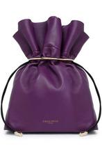 Emilio Pucci | Emilio Pucci Woman Embellished Leather Pouch Violet Size - | Clouty