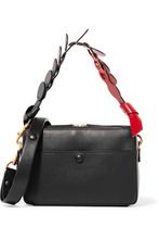 Anya Hindmarch | Anya Hindmarch Woman Leather Shoulder Bag Black Size - | Clouty