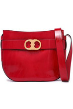 Tory Burch | Tory Burch Woman Patent-leather Shoulder Bag Red Size - | Clouty