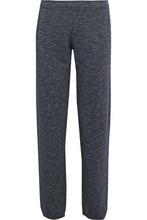 Monrow | Monrow Woman Melange Fleece Track Pants Anthracite Size L | Clouty