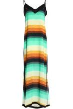 Vix By Paula Hermanny | Vix Paula Hermanny Woman Striped Crepe Maxi Dress Multicolor Size L | Clouty