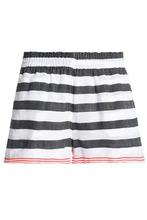 Lemlem | Lemlem Woman Striped Cotton-blend Shorts Anthracite Size S | Clouty