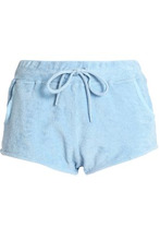 Orlebar Brown | Orlebar Brown Woman Cotton-terry Shorts Sky Blue Size M | Clouty