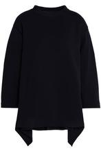 Marni | Marni Woman Wool-blend Ponte Top Midnight Blue Size 40 | Clouty