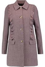 Sonia Rykiel   Sonia Rykiel Woman Fringed Wool-tweed Jacket Multicolor Size 40   Clouty