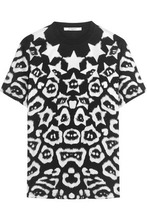 GIVENCHY | Givenchy Woman T-shirt In Printed Cotton-jersey Black Size L | Clouty