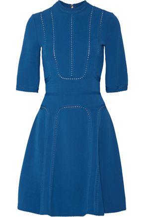 Barato 100% Auténtico Recortada Pointelle Elie Saab Mujer De Estiramiento-ponte El Vestido Azul Cobalto Tamaño 44 Elie Saab Precio barato al por mayor K7UylXzLq