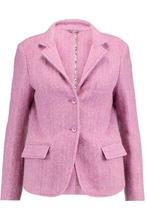 Etro   Etro Woman Melange Wool And Alpaca-blend Blazer Lavender Size 48   Clouty