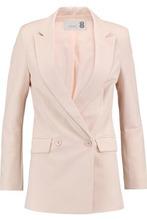 8 Woman Crepe Blazer Pastel Pink Size S   Clouty