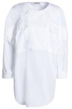 NINA RICCI | Nina Ricci Woman Cotton-poplin Tunic White Size S | Clouty