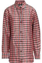 Isabel Marant | Isabel Marant Woman Manray Checked Poplin Shirt Pink Size 40 | Clouty